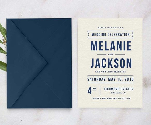 21+ Wedding Invitation Templates – Free Sample, Example, Format ...