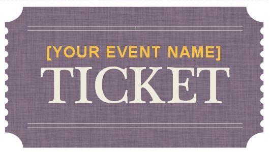 Ticket Templates Word. ticket template template for raffle tickets ...