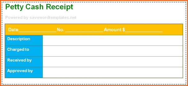 6+ cash receipt template uk - Budget Template Letter