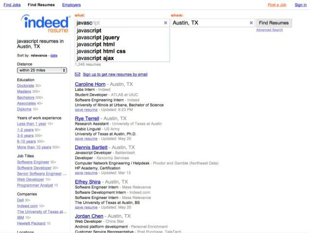 Remarkable How To Upload A New Resume On Indeed 95 For Your Simple ...