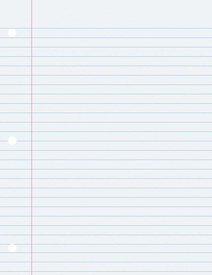 Best Photos of Wide Ruled Paper Template - Wide Ruled Notebook ...