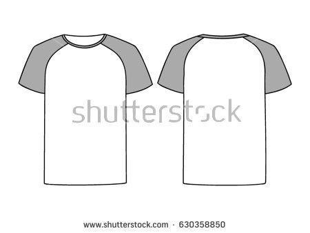 Men's Raglan t-shirt vector - Download Free Vector Art, Stock ...