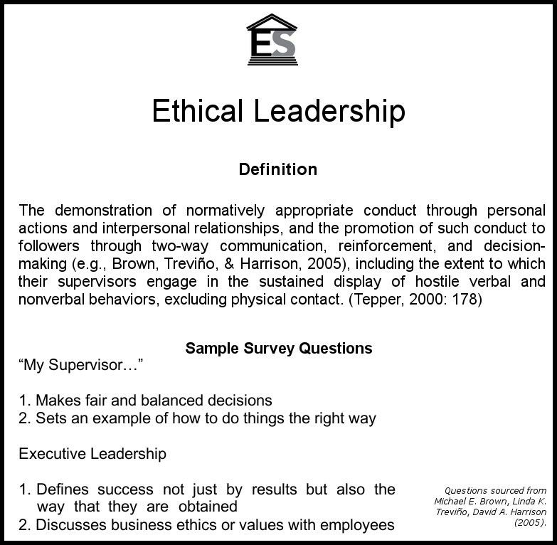 Take Our Survey: Module 1 Ethical Culture Measurement | Ethical ...
