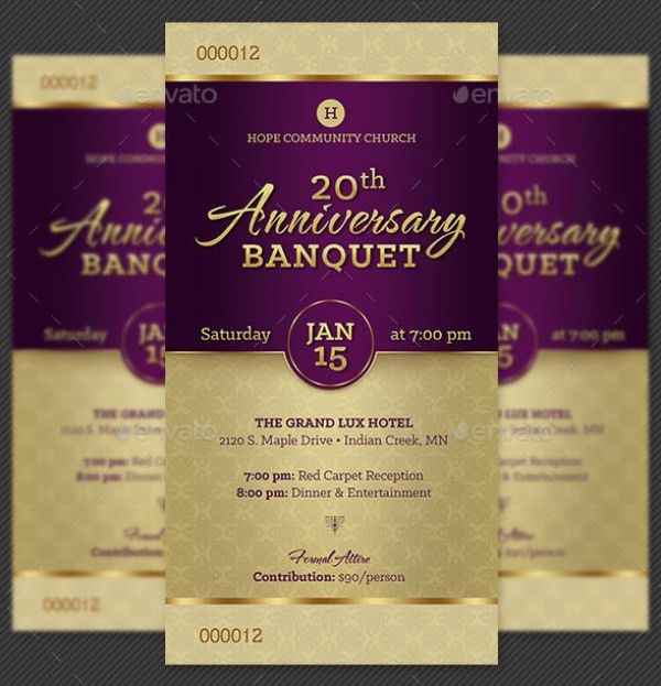 46+ Print Ready Ticket Templates PSD for Various Types of Events ...