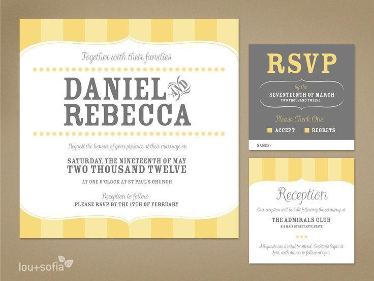 62 best top wedding invitations images on Pinterest | Invitation ...