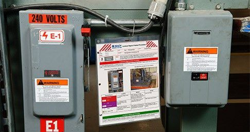 Lockout Tagout Safety- Sustainable Solutions - OSHA - Brady- Safety