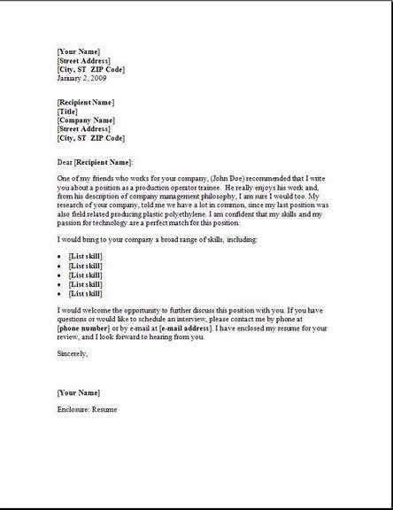 cover letter sample format what to put in a covering letter for a ...