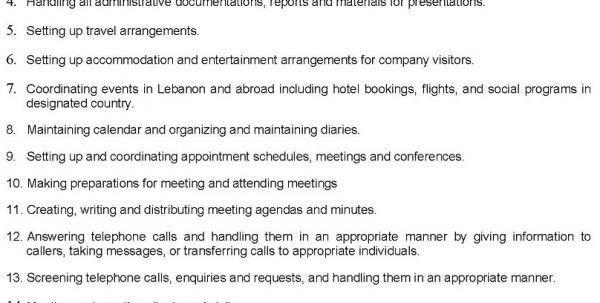 sample resume job description nanny responsibilities resume nanny ...