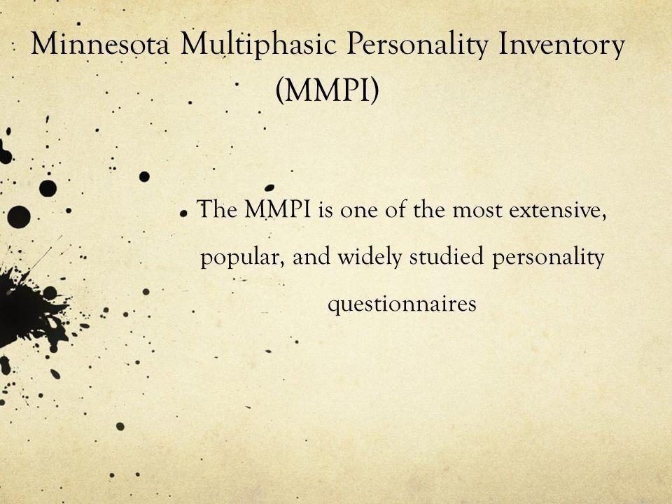 Survey of Modern Psychology Personality. Personality generally ...