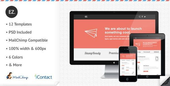 10 Sexy Responsive Email Newsletter Templates You Can Implement ...