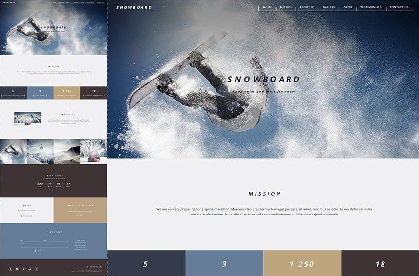 Bootstrap Gallery Templates Free & Premium Themes   Creative Template