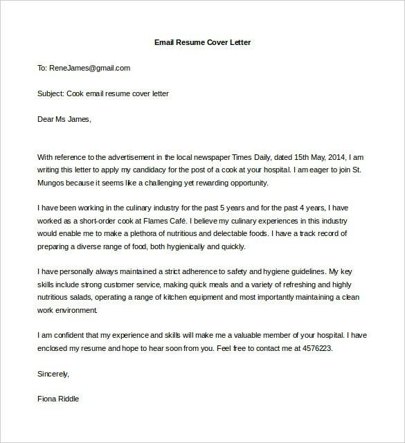 Sample Cover Letter Any Job Vacancy For 21 Wonderful Jobs Not ...
