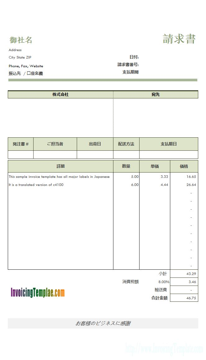 Spare Parts Sales Invoice