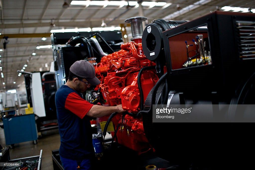 Operations At The Stemac Generator Assembly Plant As Brazil Adds ...