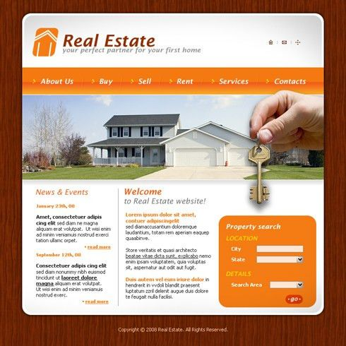 3618 - Real Estate & Building - Website Templates - DreamTemplate
