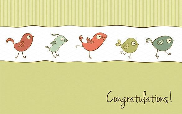 Congratulations Card Templates – 12+ Free Printable Word, PDF, PSD ...