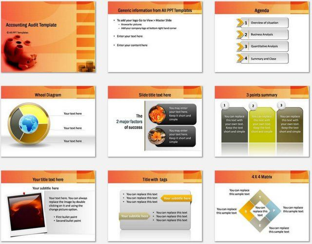 audit powerpoint presentation template audit word cloud powerpoint ...