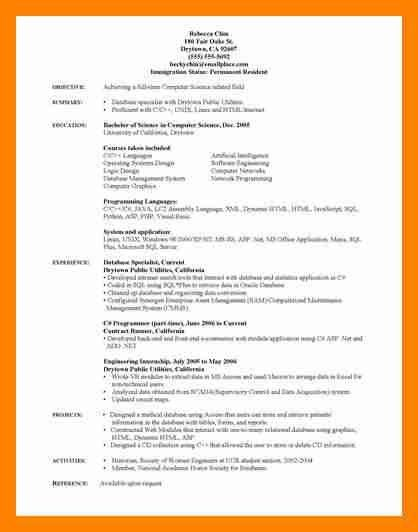 10+ computer science resume | resumes great