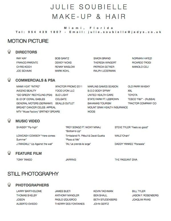 Hair Stylist Resume | ilivearticles.info