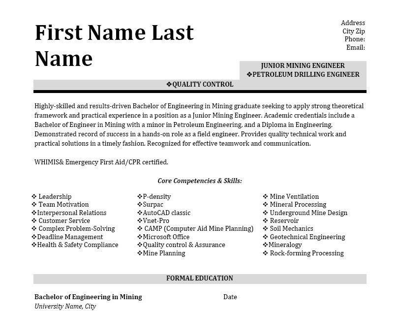 geologist resume sample resume cv cover letter top 7 geologist