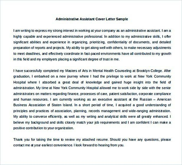 13+ Cover Letter for Internship Template