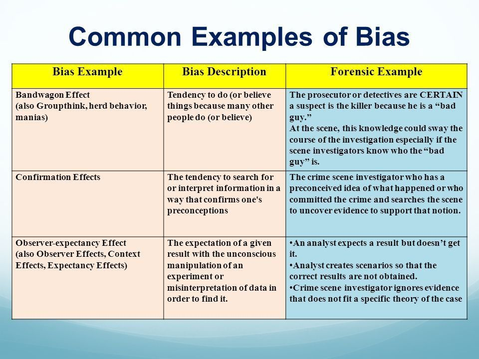 "Scientific Method, Bias & Reasoning ""Truth is sought for its own ..."