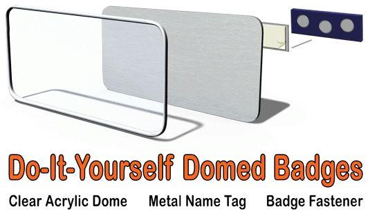 Dome Name Tags | Name Tag Domes | Dome Name Badge Lens | Name Tags ...