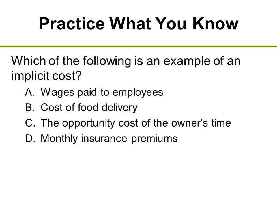 Business Costs and Production 8. Previously Externalities exist ...