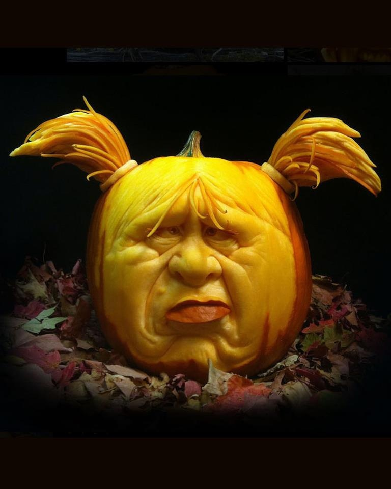 1000 Images About Cool Pumpkin Carvings On Pinterest