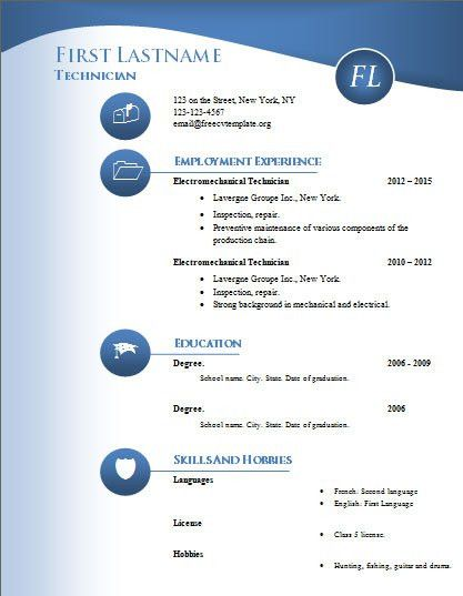 How to Download and Use our Free Resume Templates? Featuring ...