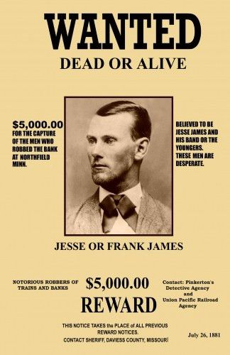 Real Wanted Posters - Template Examples