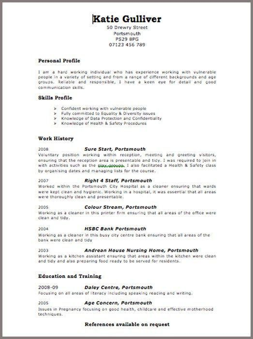 17 best CV Writing & Interview Tips images on Pinterest ...