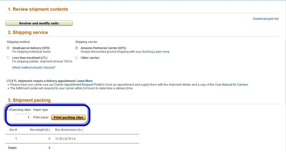 Packing Slips Required Again For FBA?? - Amazon Seller Forums