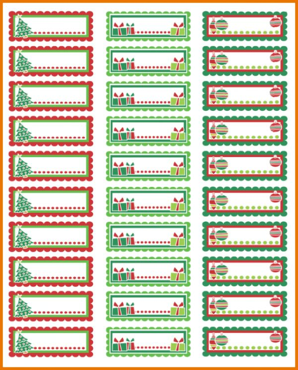 How To Print Avery Labels In Word.Christmas Address Labels 875.png ...