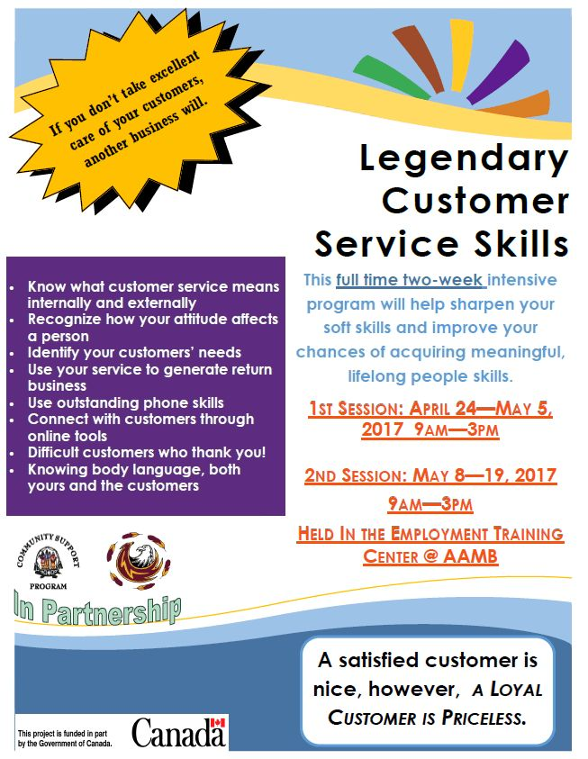 Legendary Customer Service Skills | Mohawk Council of Akwesasne