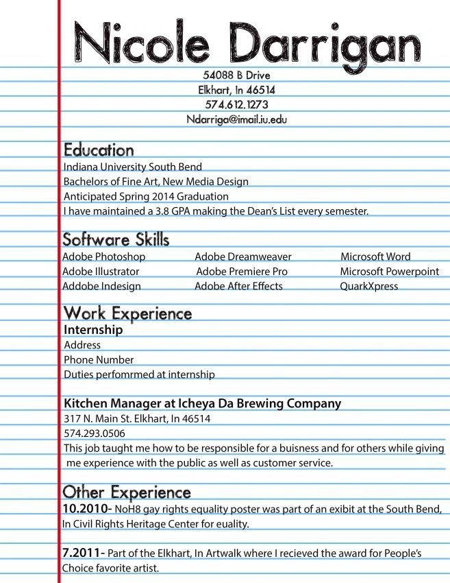 13 Career Kids My First Resume Resume grade 8 resume examples ...