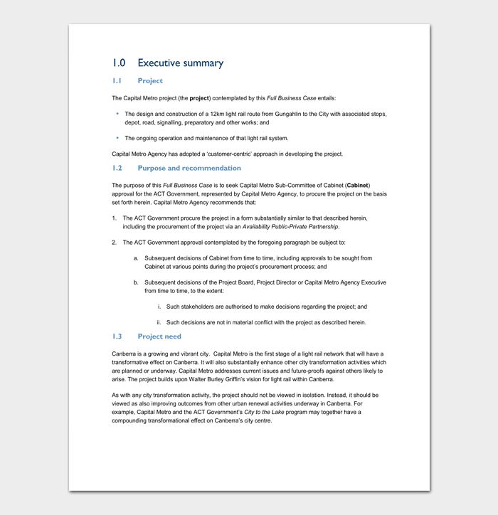 Case Study Template - 5+For Word & PDF Format