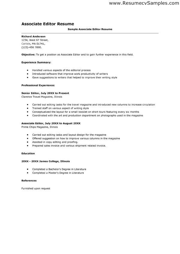 sports editor resume samples. old version. bold design ...