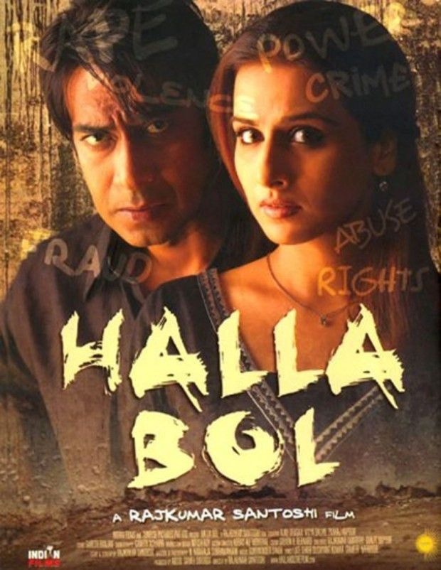 Download Halla Bol 2008 Hindi 1080p Web-HD Esub Movie Free - Movie ...