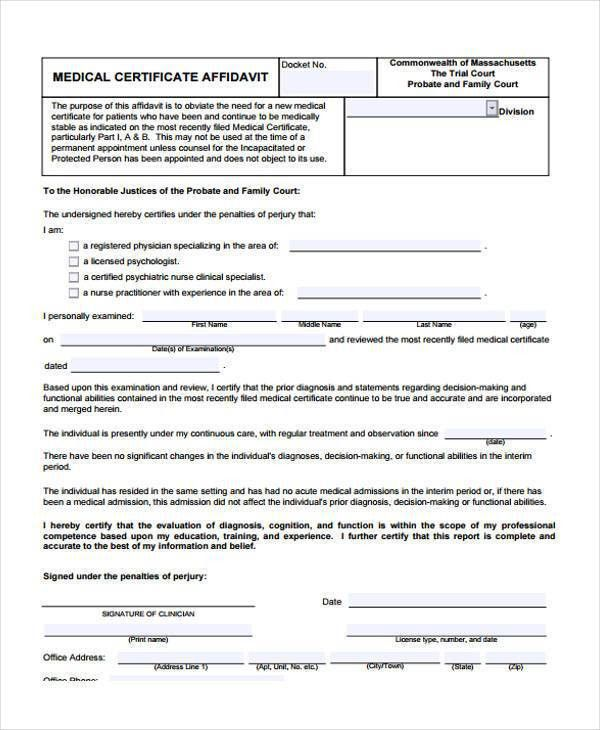 41 Sample Certificate Forms