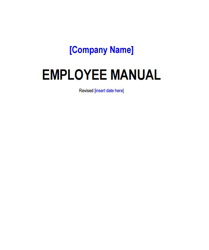 Company Policy Template   Free Word Templates
