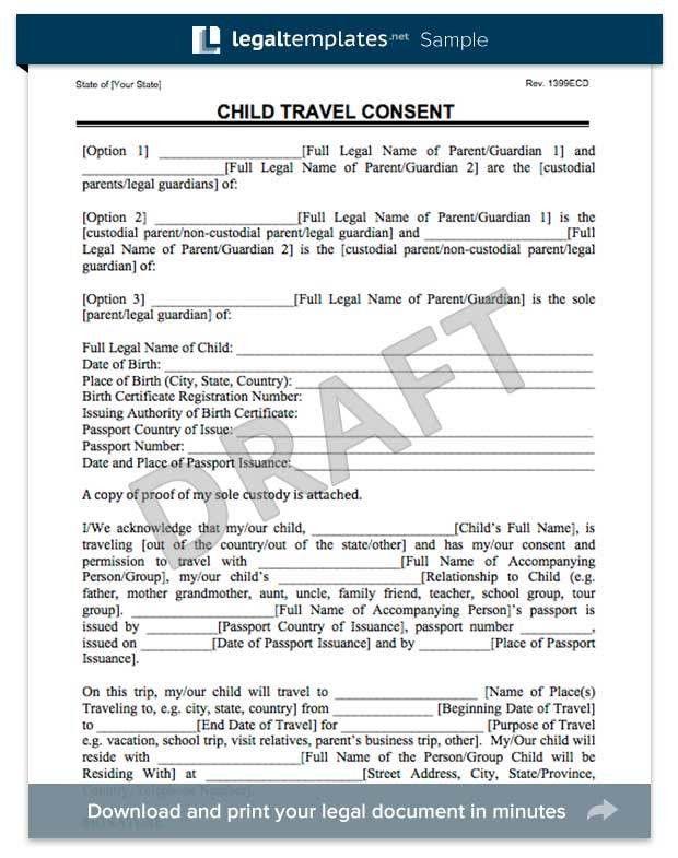 878995 medical permission letter child medical consent. medical ...