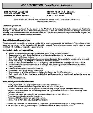 sales resume example. sales support administrators provide vital ...