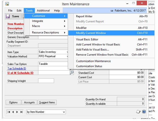 A Guide to Modifying Third-Party Forms in Microsoft Dynamics GP – FMT
