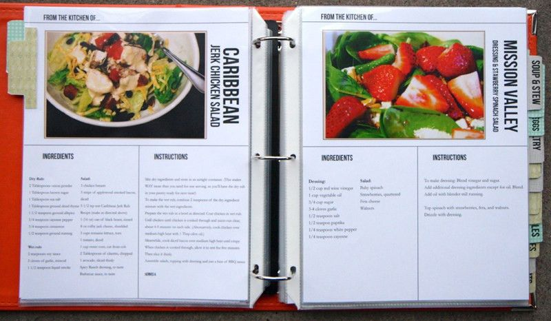 Putting Together the Recipe Book - TheNerdNest