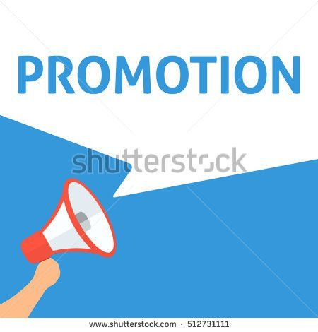 Promote Yourself Announcement Hand Holding Megaphone Stock Vector ...