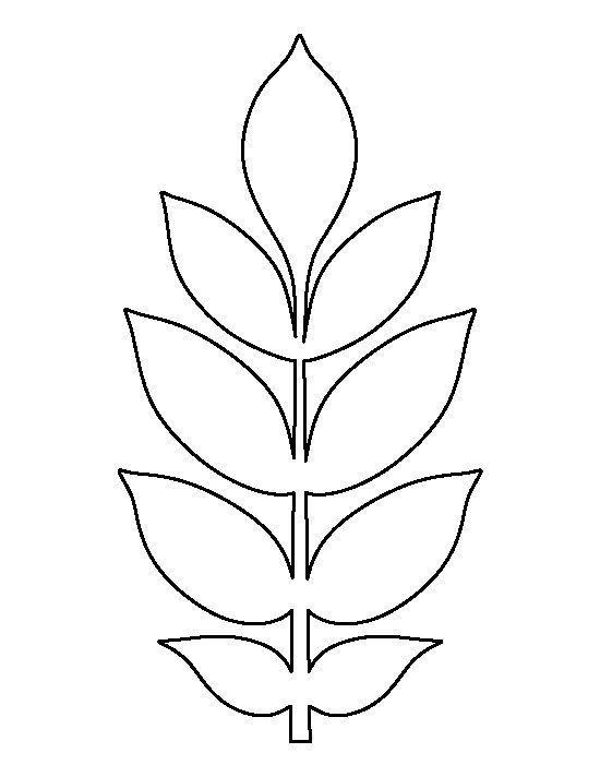 Best 25+ Leaves template free printable ideas on Pinterest | Leaf ...
