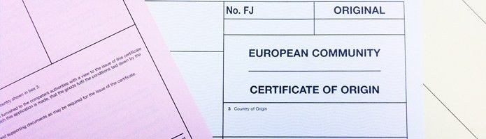 European Certificate Of Origin - Lincolnshire Chamber of Commerce