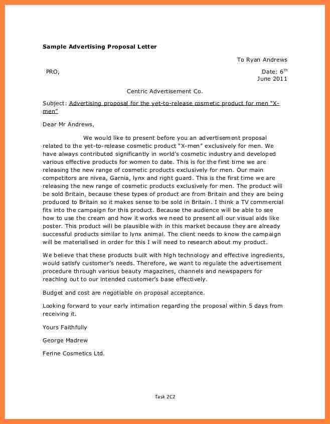 Advertising Proposal Template. Social Media Business Proposal ...