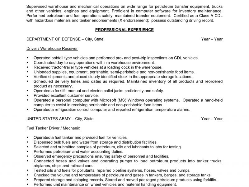 remarkable warehouse resume template 11 worker objective examples